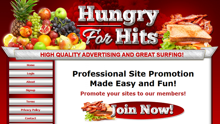 Hungry For Hits Join signup