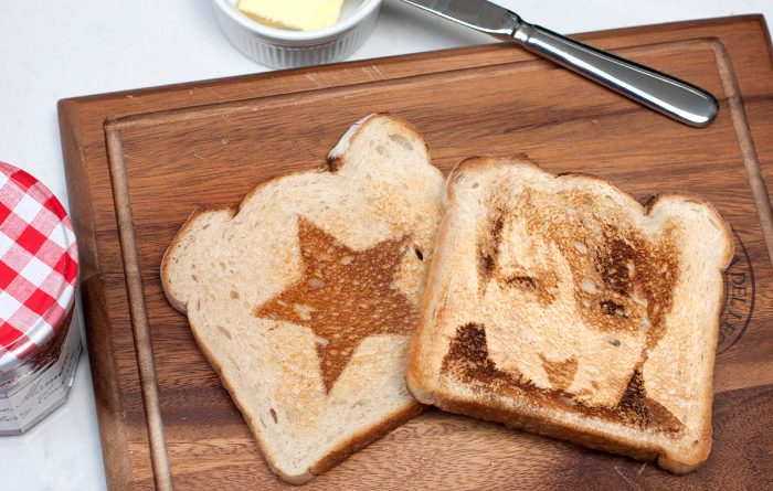 Hungry For Hits toast